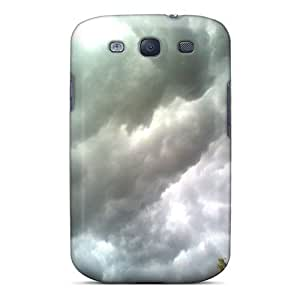 Sanp On Case Cover Protector For Galaxy S3 (awan Mendung)