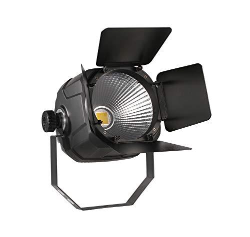 DragonX Professional Ellipsodidal 100W LED COB Cool White Light- Portable DJ Pin Spot 5600K Lighting Fixture/DMX Pinspot Par Light for Theatre Uplight Effect, Concert, Church, and Stage Spotlight