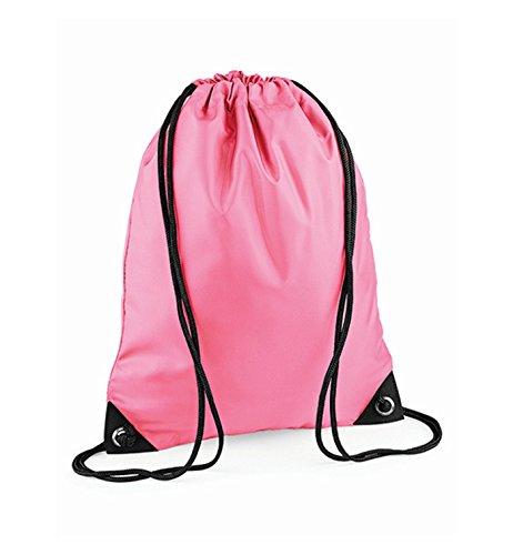 Unisex's Pink Bag Premium BG010TPIN BagBase True Medium Gymsac qgZpAd