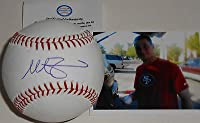 Mike Zunino Seattle Mariners Autographed Signed Baseball w/pic A1