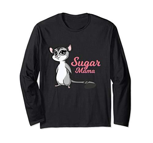 Sugar Glider Mama Long Sleeve T-Shirt I Pet Owner -