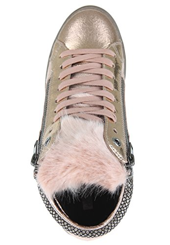 Replay Damen Yoha Hohe Sneaker Rose