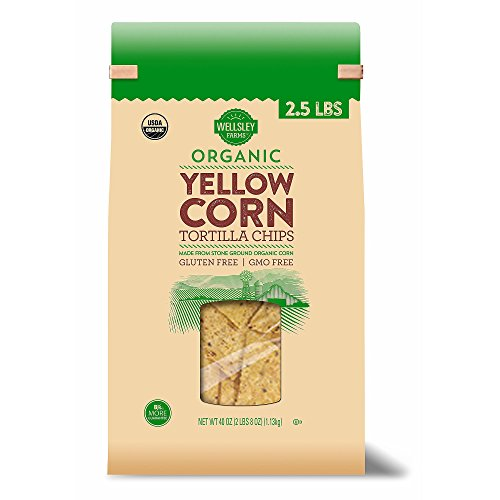 Wellsley Farms Organic Yellow Corn Tortilla Chips, 40 oz.