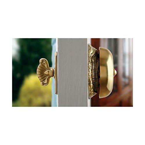 Victorian Syle Mechanical Twist Door Bell Antique Reproduction Ornate Solid  Brass Doorbell   Door Knockers   Amazon.com