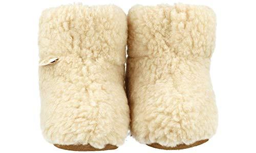 Rbj pantoufles Avec Shoes Mouton Laine À Chauds La Naturelle 950 Leather De Fabriqués 100 Beige gF4wrWgqn
