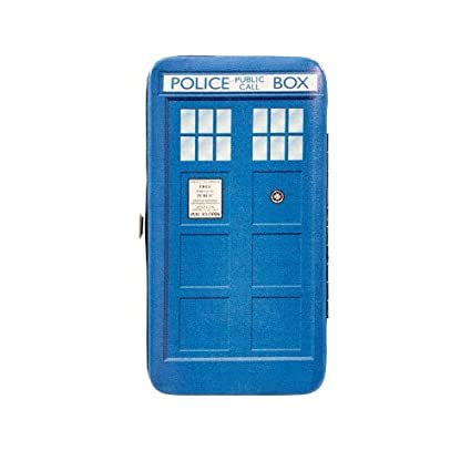 Amazon.com: Doctor Who: TARDIS Soft-Touch – Monedero con ...