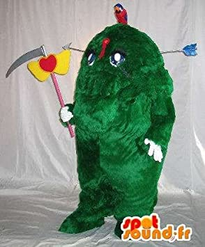 Mascot SpotSound Amazon customizable scary hedge disguise monstrous tree & Mascot SpotSound Amazon customizable scary hedge disguise monstrous ...