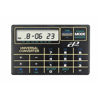 Cole Parmer Credit Card Size Calculator Converter 4 25