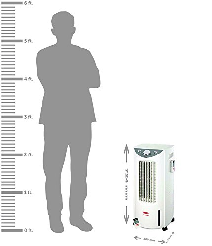 Usha Honeywell 12-Litre Personal Cooler (CS 12AE) with Remote Control (White)