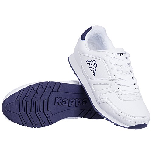 Kappa Femme Chaussures de sport Womens Trainers Ladies Lace Up Running Shoes Annanes White Mint/White Purple UK Sizes 4 5 6 7 8 New