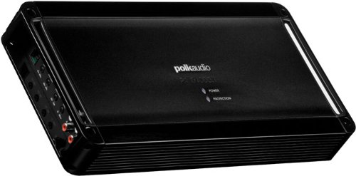 (Polk Audio PA D1000.1 Class D MOSFET Monoblock Mobile Audio Amplifier; 500 Watts RMS @ 4 ohms, 800 Watts RMS @ 2 ohms and 1200 Watts RMS @ 1 ohm; Remote Subwoofer Level Control)