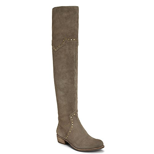 Aerosoles Women's West Side Over the Knee Boot, Taupe Suede, 7.5 M US by Aerosoles