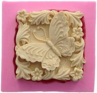 septembre Pretty Libellule et papillon insectes Moule en silicone Savon Moule /à bougie en argile Moules DIY Moule /à g/âteau Chocolat Fondant cuisson outils 363