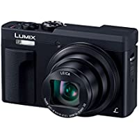 Panasonic Compact Digital Camera Lumix TZ90 Optical 30 times Black DC-TZ90-K(Japan Import-No Warranty)