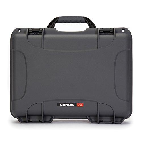 Nanuk 910 Waterproof Hard Case Empty - Graphite