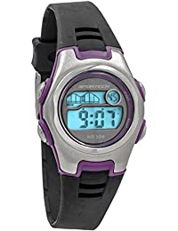 Unisex | Black & Purple Racer Digital Sport Watch | SP10203