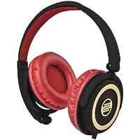 Reloop RHP-5 DJ Headphones, Cherry Black