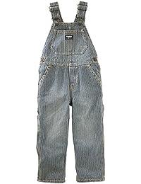 OshKosh B'gosh Baby Boys' Mechanic Tinted Wash Overalls