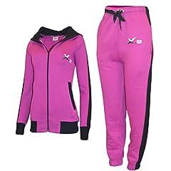 X-2 Women Athletic Full Zip Fleece Tracksuit Jogging Sweatsui . 0eef5bf4c