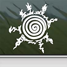 Naruto White Sticker Decal Seal Of Naruto White Car Window Wall Macbook Notebook Laptop Sticker Decal