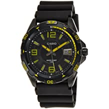 Casio Men's MTD-1065B-1A2VDF Analog Resin Band Watch