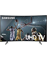 Samsung UN55RU7300FXZA Curved 55-Inch 4K UHD 7 Series Ultra HD Smart TV with HDR and Alexa Compatibility (2019 Model)