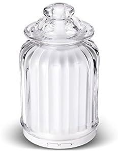 AromaAllure Glass Ultrasonic Aromatherapy Diffuser,...