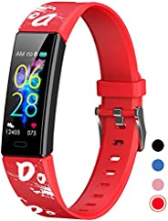 Mgaolo Slim Fitness Tracker for Kids Women,IP68 Waterproof Activity Tracker with Blood Pressure Heart Rate Sle