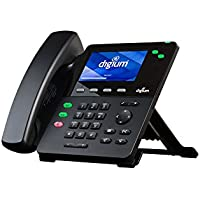 Digium D60 1TELD060LF 2 Line HD Phone Color LCD PoE w Power Adapter