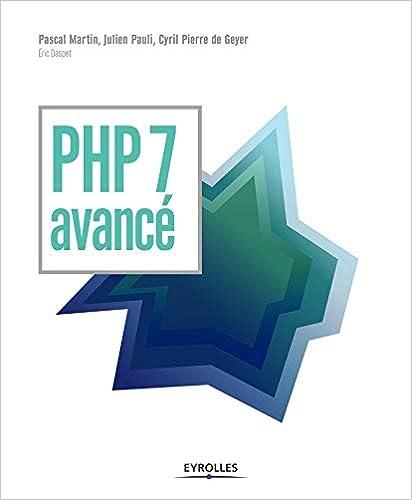 couverture du livre PHP 7 avancé