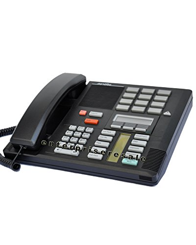 Nortel Meridian Phone System - Nortel/Meridian M7310 PBX Black 4-7 Line Telephone with Speaker (Norstar NT8B20)