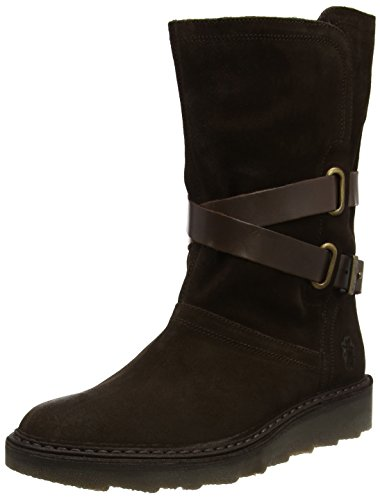 Fly Brown Brown Women's Boots London Expresso Army955fly Dk 1nrA1vq6