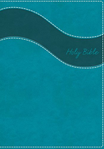 NIV, Gift Bible, Imitation Leather, Blue, Red Letter Edition