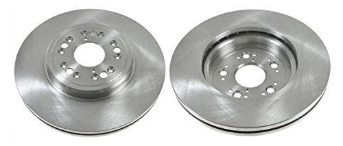 - Vented Front Disc Brake Rotor Pair Set for 95-00 LS 400