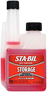STA-BIL (22208) Storage Fuel Stabilizer - Guaranteed To Keep Fuel Fresh Fuel Up To Two Years - Effective In Al