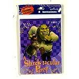 Shrek Party Invitations (8 Count)