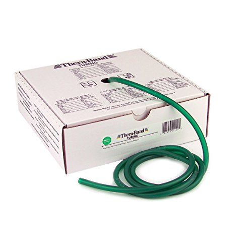(Thera-Band Tubing 100' Roll, Green,)