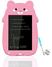 mom&myaboys 8.5 Inch LCD Writing Tablet for Kids,Boys Girls Toys Colorful Toodller Drawing Doodle Board,Electronic Doodle Pad Educational Learning Toys Gifts for Kids,Christmas Gifts for Kids,Pink M