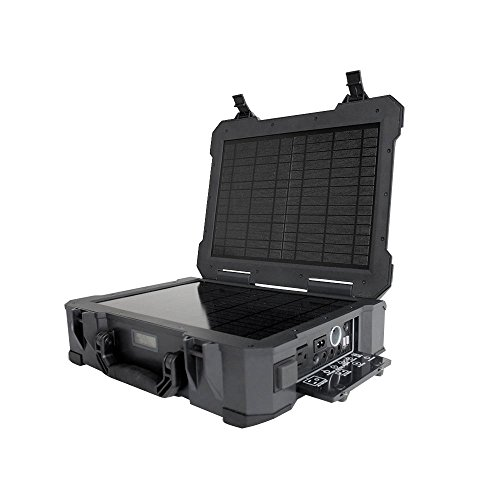 HQST Portable Generator With Solar Panel