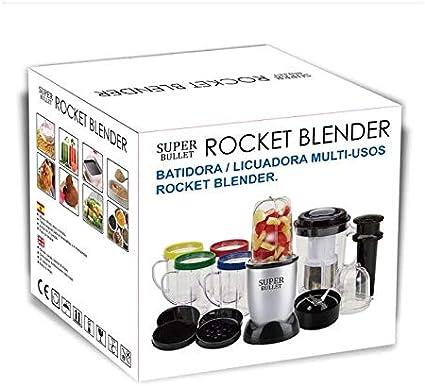 SUPER BULLET Batidora Licuadora Multiusos Rocket Blender de 21 ...