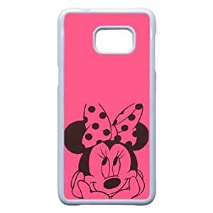 Samsung Galaxy Note 5 Edge Phone Case White Disney Mickey Mouse Minnie Mouse VMN8193561
