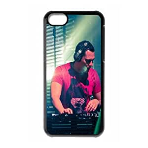 iPhone 5c Cell Phone Case Black Dutch Dj Record Producer Tiesto Music TR2482939