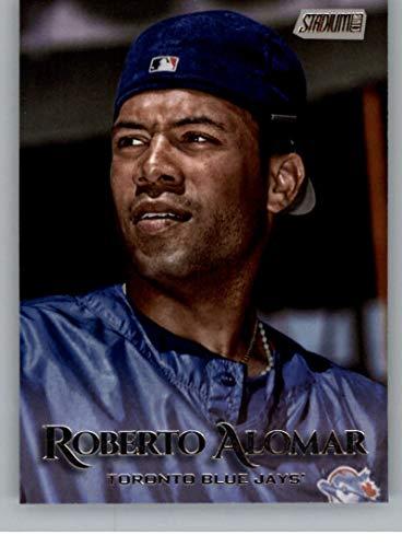 (2019 Stadium Club Baseball #258 Roberto Alomar Toronto Blue Jays Official MLB Trading Card From Topps)