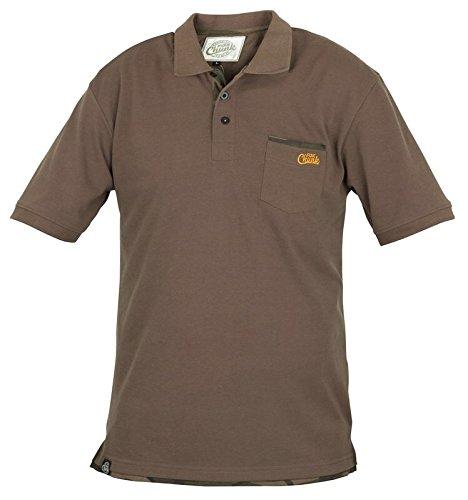Fox Chunk Polo Shirt khaki Medium CPR54