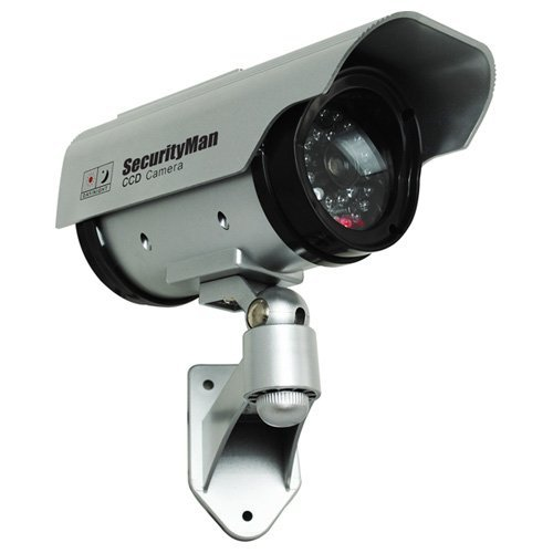 SecurityMan SM-3803 Dummy Camera with Solar Charger