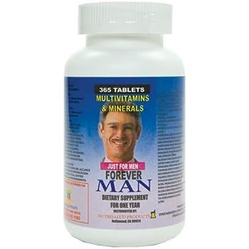Amazoncom Forever Man Multivitaminas Para Hombre 365 Tabletas
