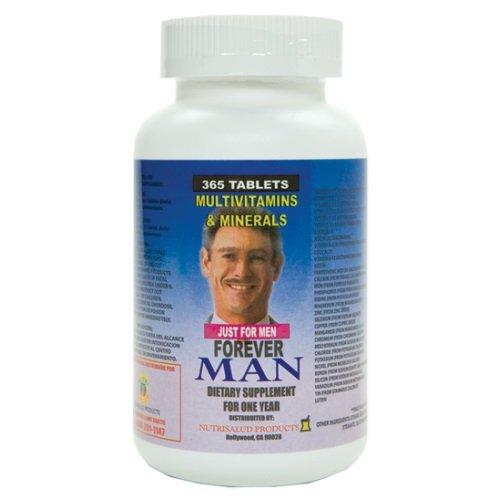 Forever Man Multivitaminas para hombre. 365 Tabletas para todo un año. Combaten cansancio y debilidad. Aumentan la energia, apetito sexual, elevan defensas del cuerpo. For Sale