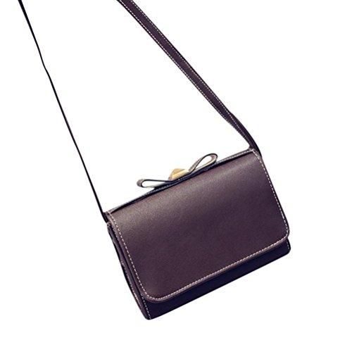 Fashion Women Bag Shoulder Tide Lady Bag Sunfei Handbags Messenger Bow Black dqPtg