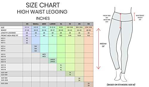 90 Degree By Reflex - High Waist Power Flex Legging - Tummy Control - Black Medium