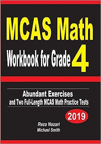 MCAS Math Workbook For Grade 4 Abundant
